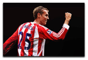 Peter Crouch Stoke City Print - Canvas Art Rocks - 1