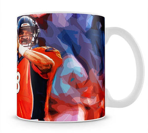 Peyton Manning Denver Broncos Mug - Canvas Art Rocks - 1