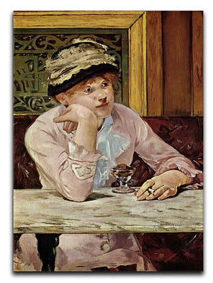 Pflaume by Manet Canvas Print or Poster  - Canvas Art Rocks - 1