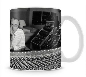 Phil Collins in the studio Mug - Canvas Art Rocks - 1