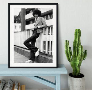 Phil Lynott Framed Print - Canvas Art Rocks - 1