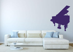 Piano Wall Sticker - Canvas Art Rocks