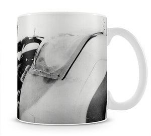Pilot collecting a Spitfire plane Mug - Canvas Art Rocks - 1
