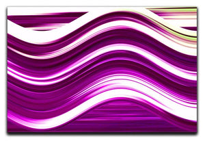 Pink Wave Canvas Print or Poster - Canvas Art Rocks - 1