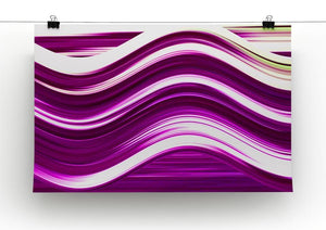 Pink Wave Canvas Print or Poster - Canvas Art Rocks - 2