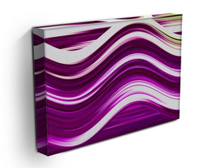 Pink Wave Canvas Print or Poster - Canvas Art Rocks - 3