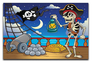 Pirate ship deck theme 6 Canvas Print or Poster  - Canvas Art Rocks - 1