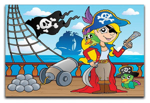Pirate ship deck theme 9 Canvas Print or Poster  - Canvas Art Rocks - 1
