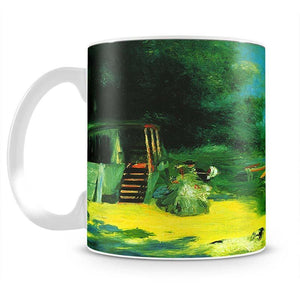 Place for Bading by Renoir Mug - Canvas Art Rocks - 2