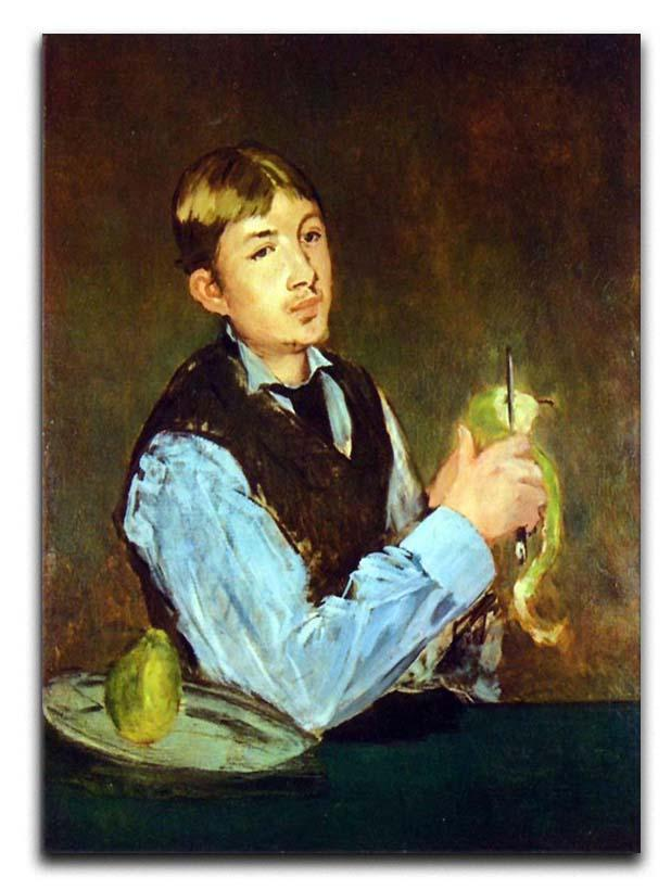 Portait of Leon Leenhoff by Manet Canvas Print or Poster