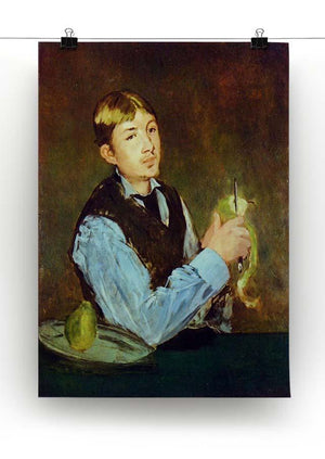 Portait of Leon Leenhoff by Manet Canvas Print or Poster - Canvas Art Rocks - 2