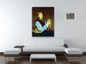 Portait of Leon Leenhoff by Manet Canvas Print or Poster - Canvas Art Rocks - 4