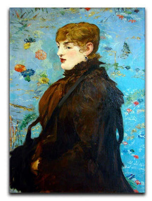 Portrait de MCry Laurent 1882 by Manet Canvas Print or Poster  - Canvas Art Rocks - 1