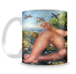 Portrait of Alexandre Thurneyssen as a shepherd boy by Renoir Mug - Canvas Art Rocks - 2