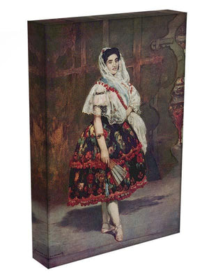 Portrait of Lola de Valence by Manet Canvas Print or Poster - Canvas Art Rocks - 3