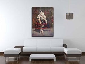 Portrait of Lola de Valence by Manet Canvas Print or Poster - Canvas Art Rocks - 4