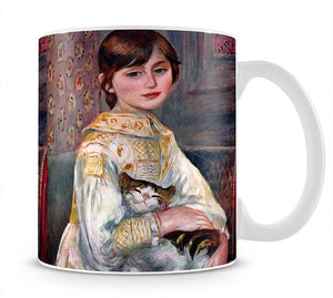 Portrait of Mademoiselle Julie Manet by Renoir Mug - Canvas Art Rocks - 1