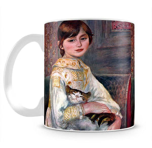 Portrait of Mademoiselle Julie Manet by Renoir Mug - Canvas Art Rocks - 2