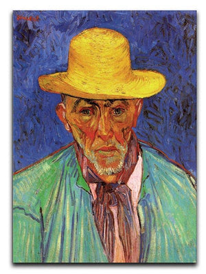 Portrait of Patience Escalier Shepherd in Provence by Van Gogh Canvas Print & Poster  - Canvas Art Rocks - 1