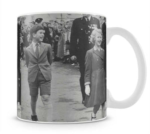 Prince Charles and Princess Anne as children Mug - Canvas Art Rocks - 1