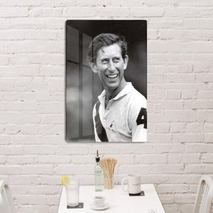 Prince Charles at New Years polo at Cowdray Park HD Metal Print