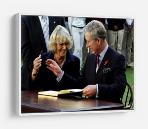 Prince Charles with Camilla in Washington DC HD Metal Print