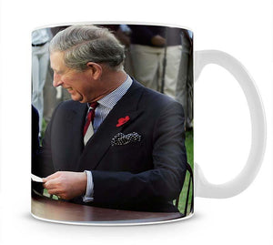 Prince Charles with Camilla in Washington DC Mug - Canvas Art Rocks - 1