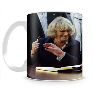 Prince Charles with Camilla in Washington DC Mug - Canvas Art Rocks - 2