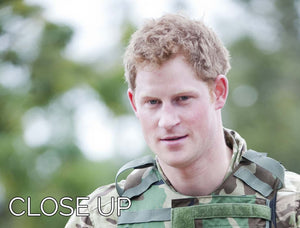 Prince Harry at the Jamaican Defence Force in Jamaica 3 Split Panel Canvas Print - Canvas Art Rocks - 3