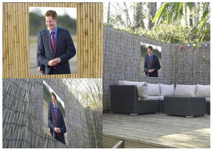 Prince Harry on a royal visit to Belize Outdoor Metal Print - Canvas Art Rocks - 2