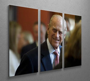 Prince Philip at the Journalists Charity at Stationers Hall 3 Split Panel Canvas Print - Canvas Art Rocks - 2