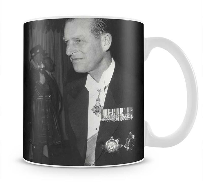 Prince Philip attending the opera at Covent Garden Mug