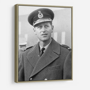 Prince Philip in Grimsby HD Metal Print