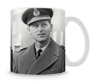 Prince Philip in Grimsby Mug - Canvas Art Rocks - 1