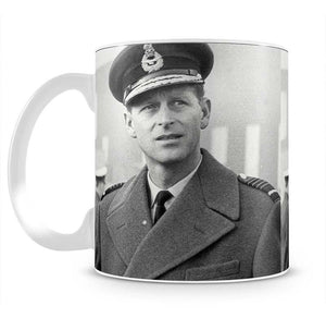Prince Philip in Grimsby Mug - Canvas Art Rocks - 2