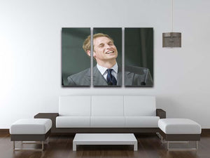 Prince William opening the Darwin Centre Museum 3 Split Panel Canvas Print - Canvas Art Rocks - 3
