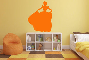 Princess Ball Wall Sticker - Canvas Art Rocks - 1