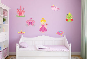 Princess Collection Wall Sticker Set - Canvas Art Rocks