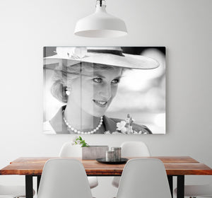 Princess Diana arrives at church in Melbourne Australia HD Metal Print