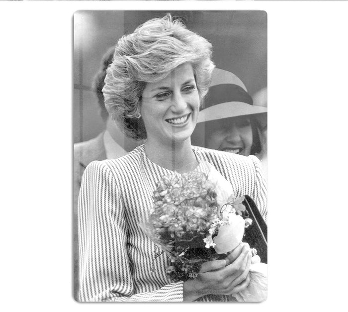 Princess Diana walkabout in Puckapunyal near Melbourne HD Metal Print