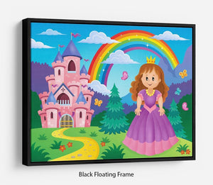 Princess theme image 2 Floating Frame Canvas