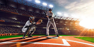Professional baseball players Wall Mural Wallpaper - Canvas Art Rocks - 1