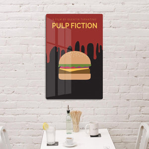 Pulp Fiction Burger Minimal Movie HD Metal Print