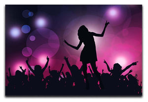 Purple Dancers Canvas Print or Poster  - Canvas Art Rocks - 1