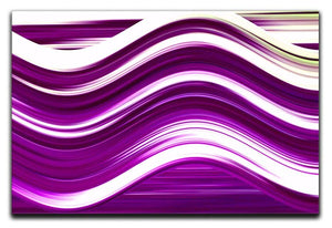 Purple Wave Canvas Print or Poster - Canvas Art Rocks - 1