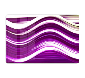 Purple Wave HD Metal Print - Canvas Art Rocks - 1