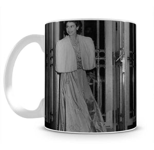 Queen Elizabeth II the day she was engaged to Prince Philip Mug - Canvas Art Rocks - 2