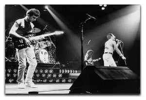 Queen Live On Stage Canvas Print or Poster  - Canvas Art Rocks - 1