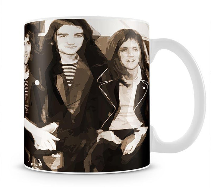 Queen Sepia Pop Art Mug