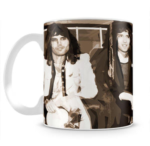 Queen Sepia Pop Art Mug - Canvas Art Rocks - 2
